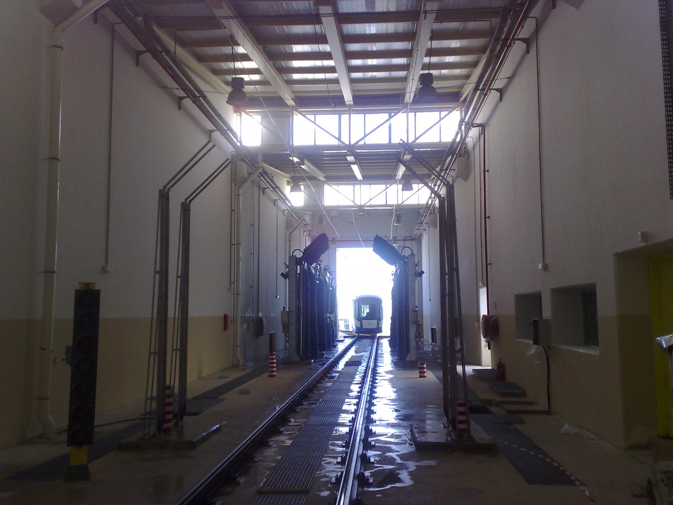 Tramway d'Alger Bâtiment & servitudes